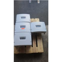 Qty 4 Sunpower SPR 3000M Solar Inverters - Previously Installed, Working