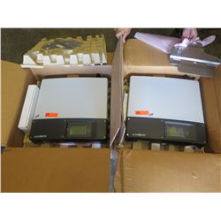 Qty 2 unpower SPR-5002M Inverters - Previously Installed, Working