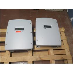 Qty 2 Sunpower SPR-7000M Inverters - Previously Installed, Working