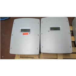 Qty 2 Sunpower SPR-5000M Inverters - Previously Installed, Working
