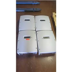 Qty 4 Used Sunpower SPR-6000M Inverters - Previously Installed, Working