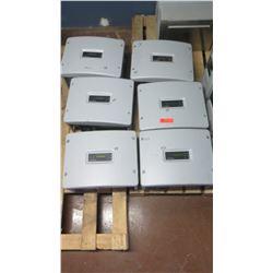 Qty 5 Sunpower SPR 4000M Inverters, Qty 1 Sunpower SPR 3000M Inverters - Previously Installed, Worki