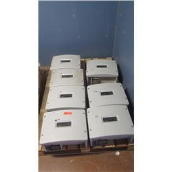 Qty 7 Sunpower SPR 4000M Inverters - Previously Installed, Working