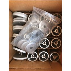 "5 Boxes: New Unirac 310-554 Aluminum Stand Off Kits 4"" Clear (12 Kits Per Box)"