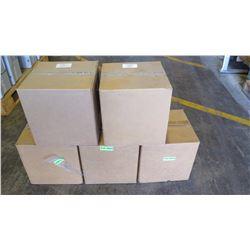 "5 Boxes: New Unirac 210-0664 Aluminum Stand Off Kits 7""DRK (2-Piece, Flat-Top) - 24 Kits Per Box"