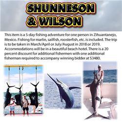 Lad Shunneson And Ken Wilson Adventures
