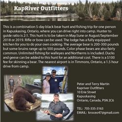Kapriver Outfitters Ducks, Geese & Grouse