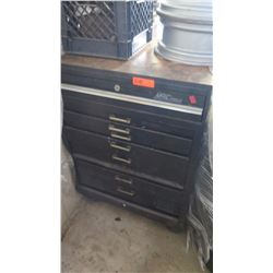 MAC Tools Rolling Tool Cabinet w/ Contents: Wrenches, Pliers, Clamps, etc.