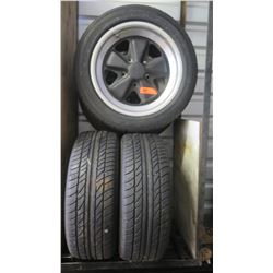Qty 4 Dunlop 215/50/R16 Tires with Rims