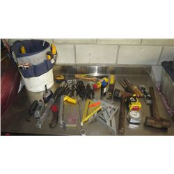Misc. Hand Tools: Wrenches, Hammers, Tape Measures, etc.