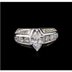 2.37 ctw Diamond Ring - 18KT White Gold