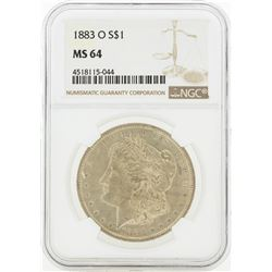 1883-O MS64 NGC Morgan Silver Dollar
