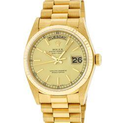 Rolex 18KT Gold President Day-Date Men's Watch