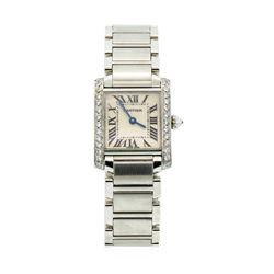 Cartier Ladies Tank Francaise Wristwatch