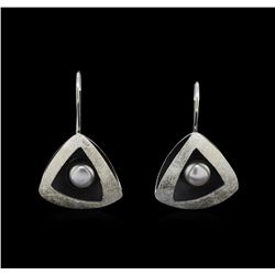 Sterling Silver Earrings and Pendant Jewelry Suite