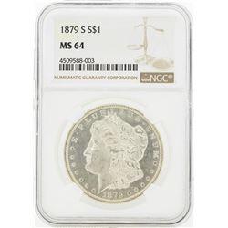 1879-S MS64 NGC Morgan Silver Dollar