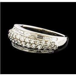 1.43 ctw Diamond Ring - Platinum