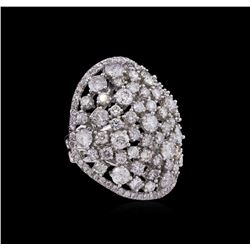 14KT White Gold 6.74 ctw Diamond Ring