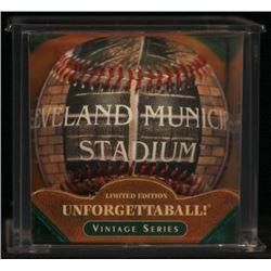 Unforgettaball!  Cleveland Municipal  Collectable Baseball