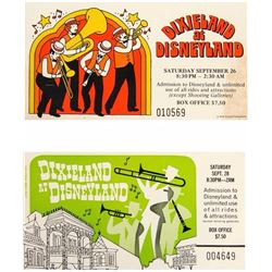 Pair of  Dixieland at Disneyland  Tickets.