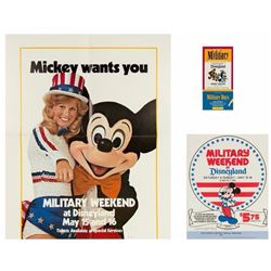 "Disneyland ""Military Days"" Art Department Proofs."