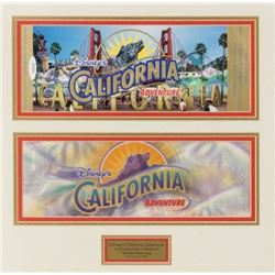 California Adventure Commemorative Passport.