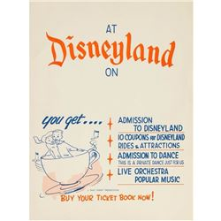 Customizable Vintage Ticket Book Poster.
