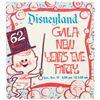 "Image 2 : Disneyland ""Gala New Year's Eve Party"" Flyer."