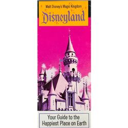 """Walt Disney's Magic Kingdom"" Gate Flyer."