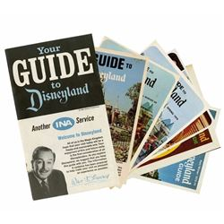 Collection of (14) INA Disneyland Guidebooks.