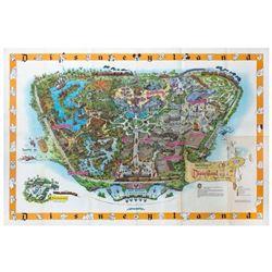 1958-C Disneyland Map.
