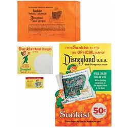 Sunkist Disneyland Map Display Kit.