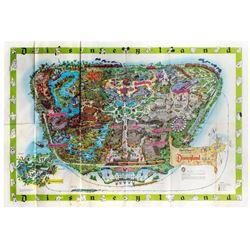1964-A Disneyland Map.