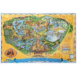1972 Disneyland Map.