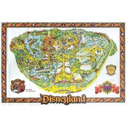 1979 Disneyland Map Signed by Bob Gurr.