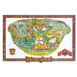 Collection of (3) Disneyland Maps