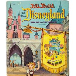 """Let's Build Disneyland"" Push Out and Put Together Book."