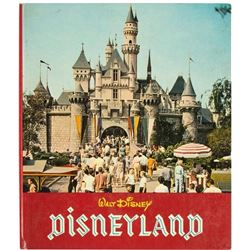 """Walt Disney's Disneyland"" Hardcover Book."