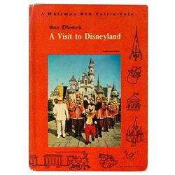 """A Visit to Disneyland"" Hardcover Book."