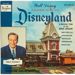 Walt Disney Record Store Display.