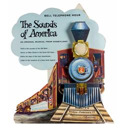 "Disneyland Standee for ""The Sounds of America""."