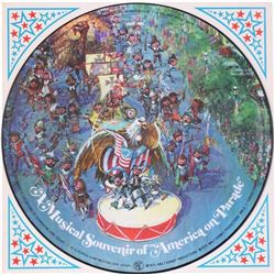 """A Musical Souvenir of America on Parade"" Record."