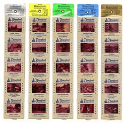 Collection of (25) Color Commercial Slides of Disneyland Circa 1957.