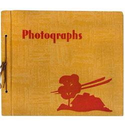 1963 Disneyland Trip Scrapbook.