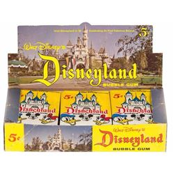 Rare Donruss Disneyland Bubblegum Cards Box.