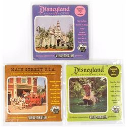 Set of (3) Disneyland View-Master Reels.