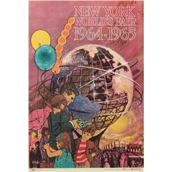 New York World's Fair Poster.