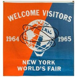 World's Fair Welcome Banner.