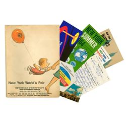 Ken O'Brien's New York World's Fair Official Portfolio.