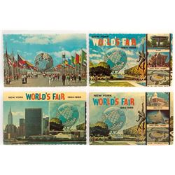 Collection of (44) World's Fair Postcards.